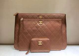 Chanel o Case Clutches