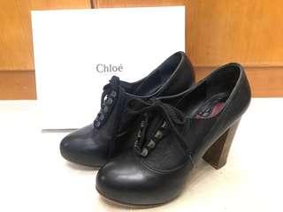 Chloé Vintage 真皮高跟鞋