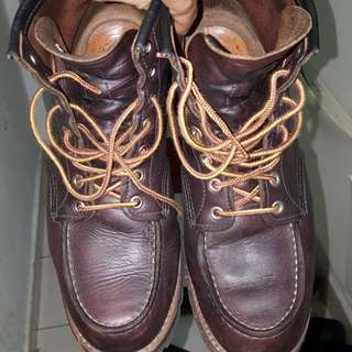 Red wings 8146 boots