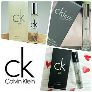 Calvin Klein -CK ONE | CK BE | CK Free- Eau De Toilette Spray 20ml