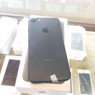 全新品 iPhone 7 32G 霧面黑 保固一年 高價收購手機