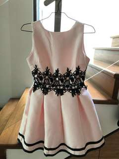 Evening Dress in Pink