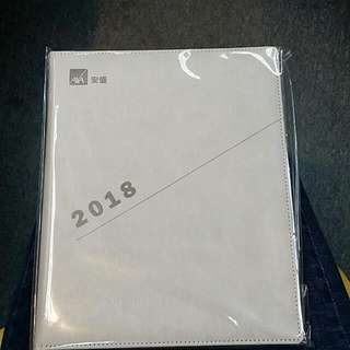 2018 記事簿 日記簿 Schedule book  Daily book