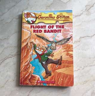 Geronimo Stilton (Flight of the Red Bandit) #56