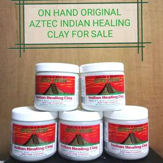 3RD BATCH ON SALE!! ON HAND: Original Aztec Secret Indian Healing Clay