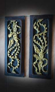 Old Phoenix carvings