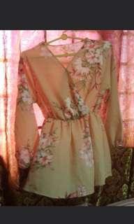 Long Sleeve Floral Top