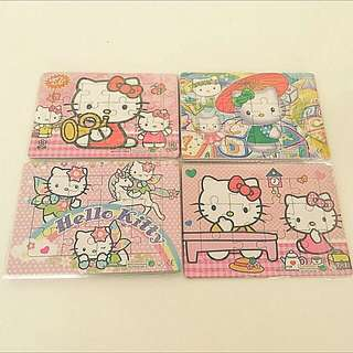 Birthday Party Gifts: Hello Kitty Puzzles