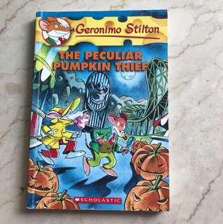 Geronimo Stilton (The Peculiar Pumpkin Thief) #42