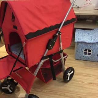 Pet Stroller cum Carrier