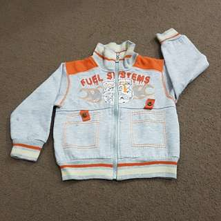 《cute grey baby jacket》