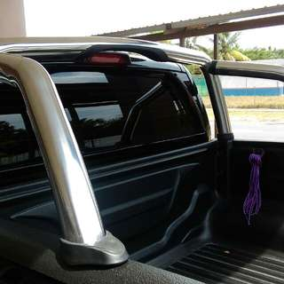 FORD RANGER CHROME ROLL SPORT BAR
