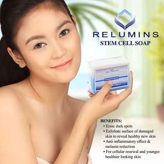 Relumins stem cell Soap