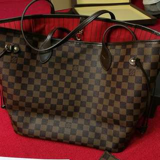 LV Neverfull GM and MM