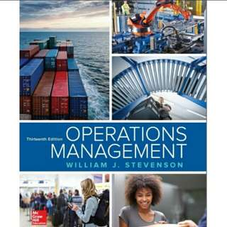 eBook Operations Management, 13th Edition