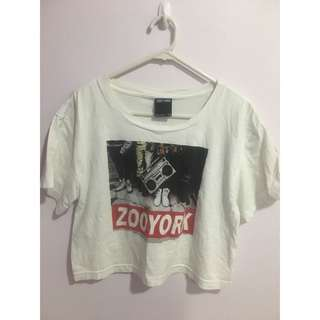 Zoo York girl crop top