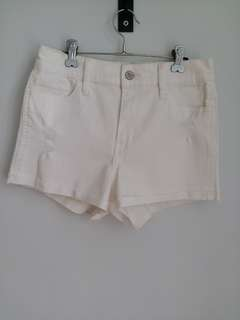 Hollister White hot pants