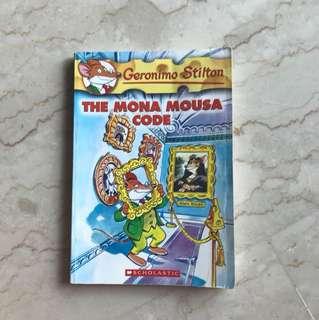 Geronimo Stilton (The Mona Mousa Code) #15
