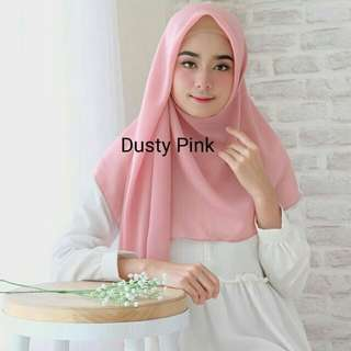 Polly Cotton Dusty Pink Eiffle Hijab