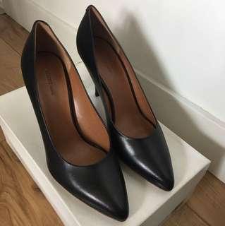 Celine黑色 真皮鞋(高跟)size 36.5 high heels pump 7.5cm