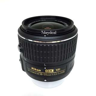 NEW Nikon 18-55mm AF-S f3.5-5.6G DX VR II Lens