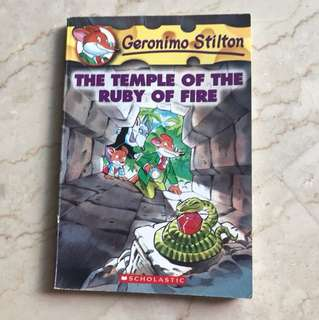 Geronimo Stilton (The Temple of the Ruby of Fire) #14