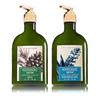 Bath and BodyWorks Nourishing Handsoap with Shea Extract