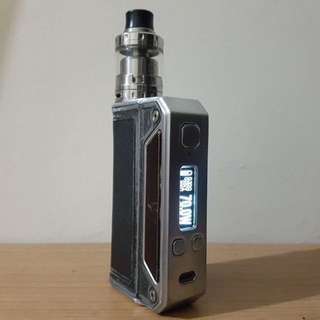 REPRICE- Vapor Mod Therion DNA 166 + Atomizer Merlin Mini RTA.