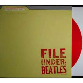 Rare: File Under Beatles Vinyl / Japan Pressing