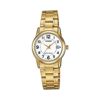 Bn Casio Gold Tone Ladies Watch LTP-V002G