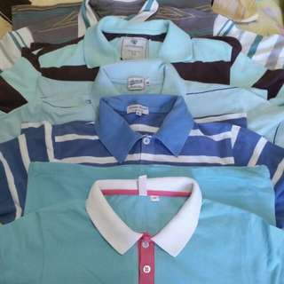 Assorted branded polo shirt