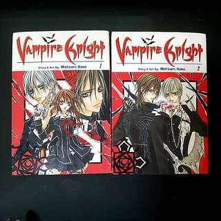 Vampire Knight vol. 1-6