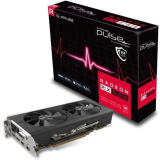 SAPPHIRE RX 580, 4GB GRAPHIC CARDS