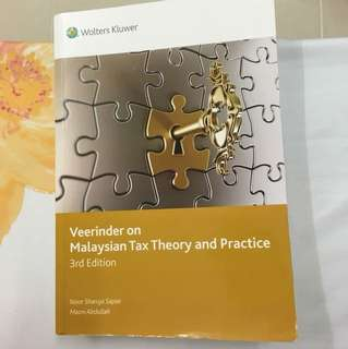 Veerinder on Malaysian Tax Theory and Practice