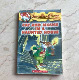 Geronimo Stilton (Cat and Mouse in a Haunted House) #3
