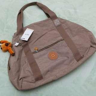 Original kipling bag (beige/brown)
