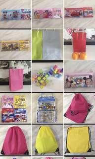 Party stuff - goodies bag