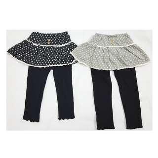 日單西松屋裙褲, 彈性好, 1個色: 黑色, 1個碼: 90 (1歲-2歲) , $25一條