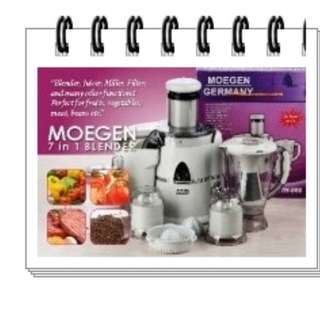 Juicer 7 In 1 Clasic Made Korea Blender Moegen