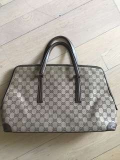 Gucci travel bag handbag 手袋