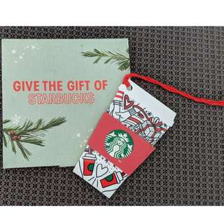 Starbucks Cards - Cup Design With $10 Value
