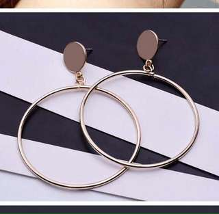 Anting hoop/bulat