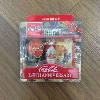 Coca-cola Japan 120th anniversary figure collection