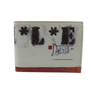 Diesel Men Wallet (100% Original / REAL) 現貨goods in stock X01255-PR795-H1532  米色  Cream