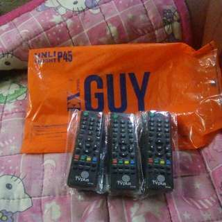 Tv plus remote pls.contact 09495959297.u can pay me after u received n test the tv plus remote.if items defective you dont pay me at all.