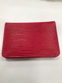 Namecard holder red
