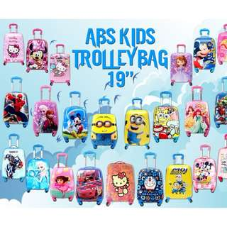 CUTIE KIDS TROLLEY BAG 19""