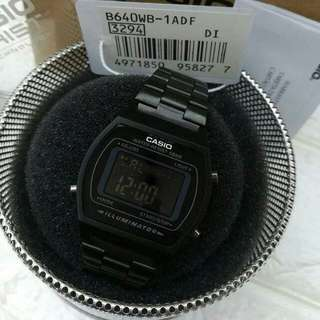 Casio All black
