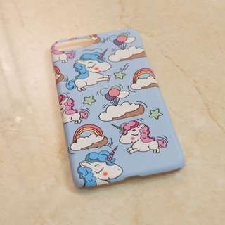 Unicorn Baby Blue Case for iPhone 7+ / 8+