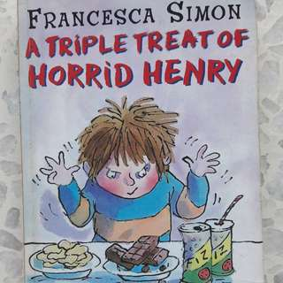 Horrid Henry 3 in 1 storybook